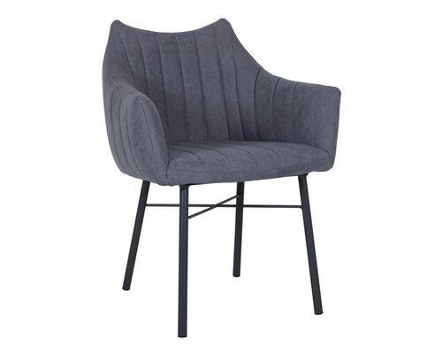 Кресло BONN (64*60*87 cm текстиль) темно-серый - Фото №1