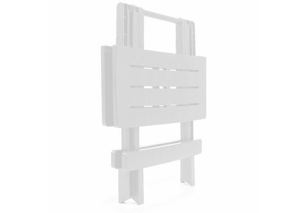 Столик ADIGE раскладной 44x44x50 белый - Фото №2