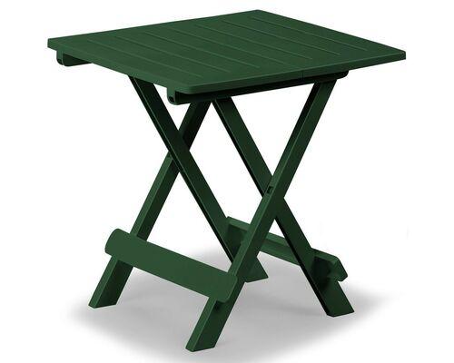 Столик ADIGE раскладной 44x44x50 зеленый - Фото №1
