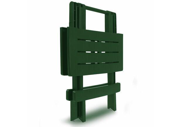Столик ADIGE раскладной 44x44x50 зеленый - Фото №2
