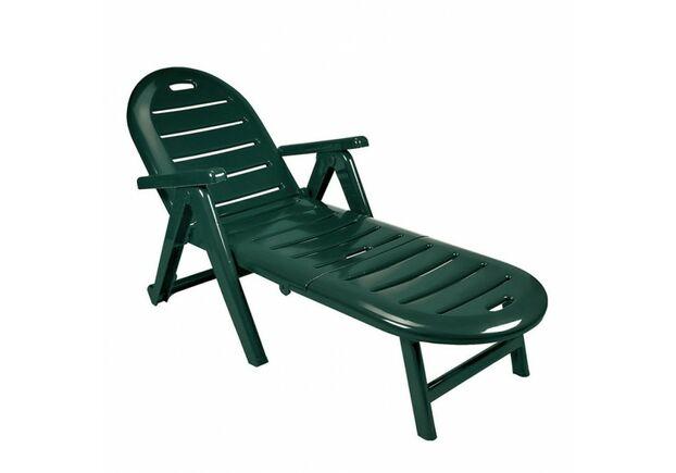 Лежак CAIMAN зелений - Фото №1
