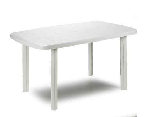 Стол FARO 137x85x72 овальный белый - Фото №1