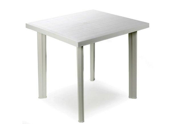Стол FIOCCO 75x80 белый - Фото №1