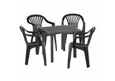 Набор для сада стол Fiocco+4 кресла