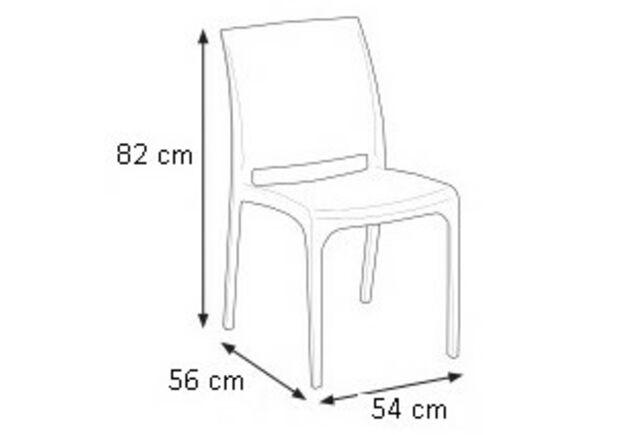 Кресло ISCHIA белое - Фото №2