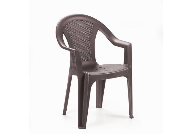 Кресло ISCHIA коричневое - Фото №1