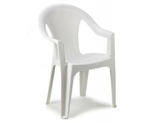 Кресло ISCHIA белое - Фото №1