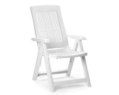 Кресло TAMPA раскладное белое - Фото №1