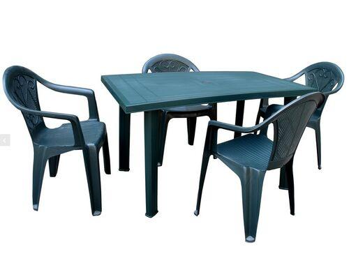 Набор для сада стол Velo+4 кресла Altea антрацит - Фото №1
