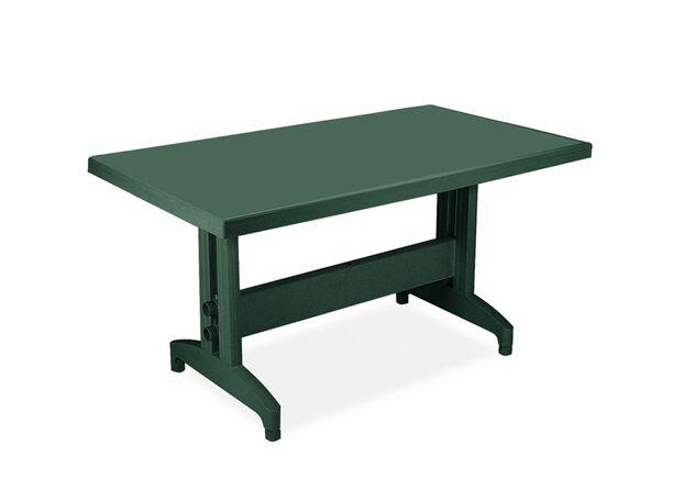 Стол для сада Престиж 140*80 см зеленый 05 - Фото №1