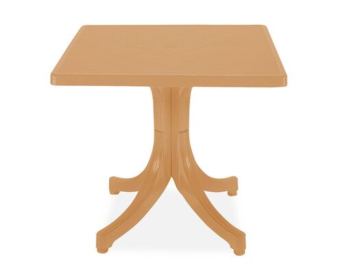 Стол для сада квадратный Фавори 80*80 см тик 13 - Фото №1