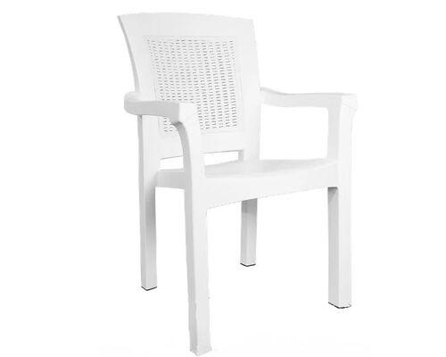 Кресло пластиковое Side белое - Фото №1
