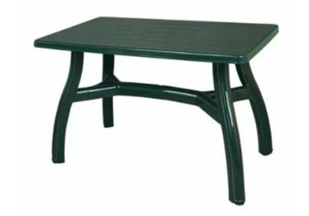 Стол прямоугольный King 80×140 см зеленый - Фото №1