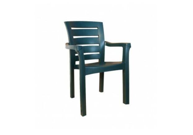 Кресло пластиковое Didim зеленое - Фото №1