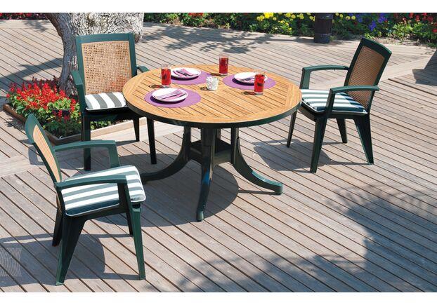 Кресло для сада Сапфир зеленое 05 - Фото №2