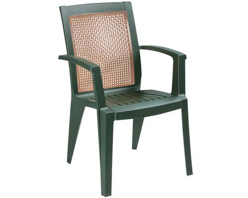 Кресло для сада Сапфир зеленое 05 - Фото №1