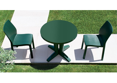 фото Комплект для сада Стол Bravo d80 см и 2 стула Yummi для сада