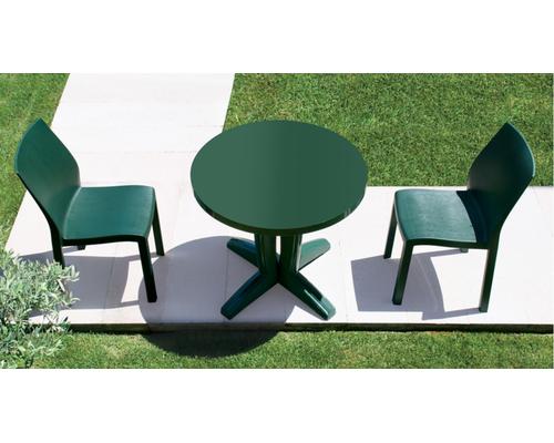 Комплект для сада Стол Bravo d80 см и 2 стула Yummi - Фото №1
