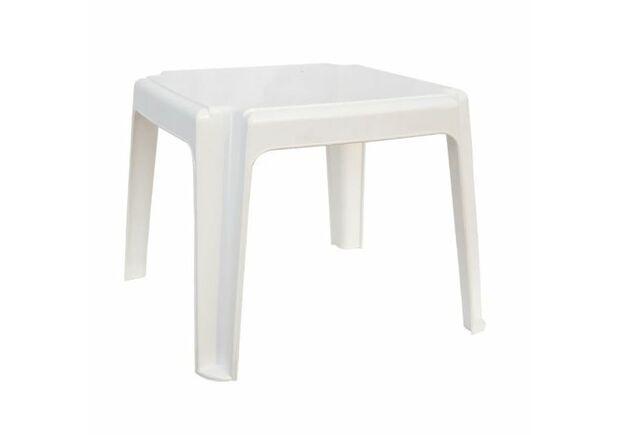 Столик к шезлонгу белый - Фото №1