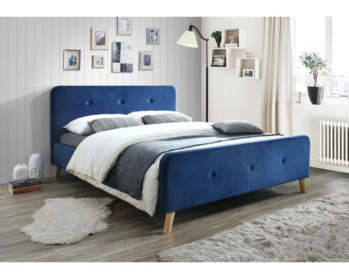 Кровать Malmo Signal (Малмо) 1600 х 2000 мм Velvet - Фото №1