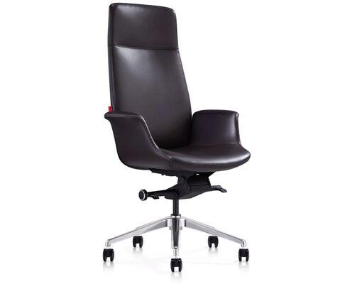 Кресло офисное Italy V28 BRL кожа люкс коричневое - Фото №1