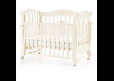 Детская кроватка Соня ЛД-19 цвет слоновая кость