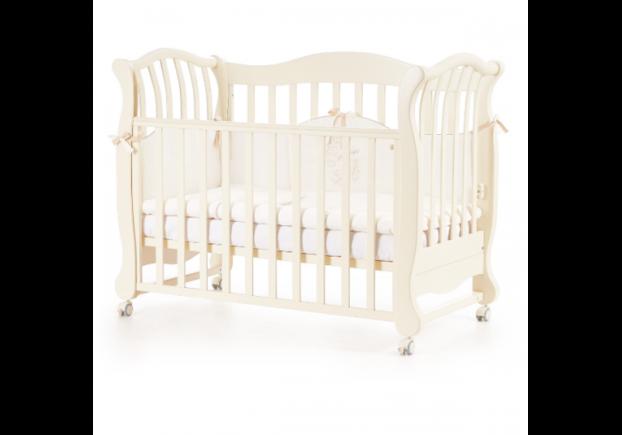 Детская кроватка Соня ЛД-19 цвет слоновая кость - Фото №1