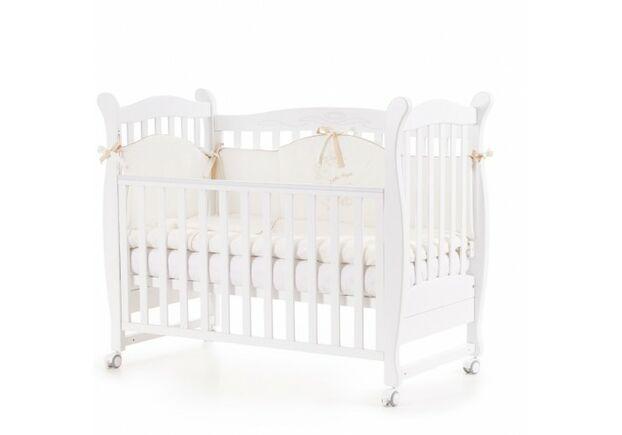 Детская кроватка Верес Соня ЛД-15 белая - Фото №1
