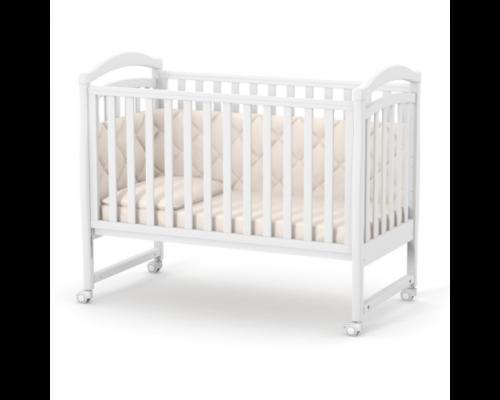 Детская кроватка Верес Соня ЛД-6 белая без ящика - Фото №1