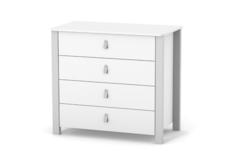 Комод Монако  900   бело-серый купить Киев