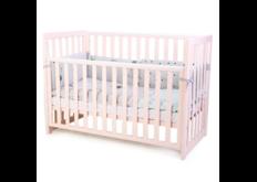 фото Детская кроватка Соня ЛД13 цвет розовый маятник  без ящика