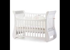 фотот Детская кроватка Соня ЛД20 цвет белый  маятник без ящика отличная небольшая кровать для малыша