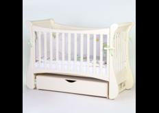фото Детская кроватка Соня ЛД20 цвет слоновая кость  маятник с ящиком
