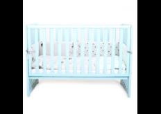 кровать верес  голубая