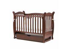 Детская кроватка Соня ЛД-15 цвет орех