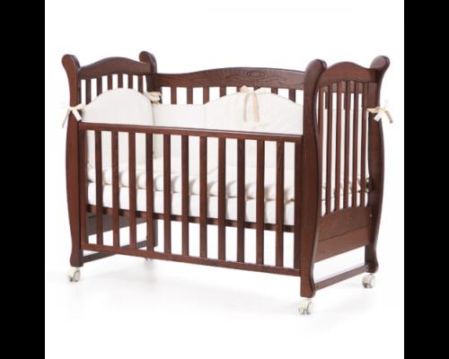 Детская кроватка Верес Соня ЛД-15 орех - Фото №1