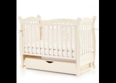 Детская кроватка Соня ЛД-15 цвет слоновая кость