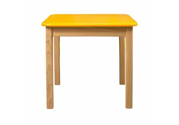 Комплект столик и 2 стульчика дерево/пленка МДФ оранжевый - Фото №2