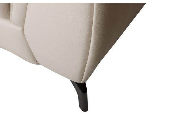 Диван угловой с оттоманкой Ричмонд 6300 кожа, латте - Фото №2
