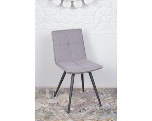 Стул поворотный MADRID (56*44*85 cm - текстиль) светло-серый - Фото №1