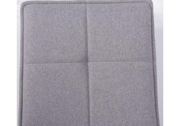 Стул поворотный MADRID (56*44*85 cm - текстиль) светло-серый - Фото №2