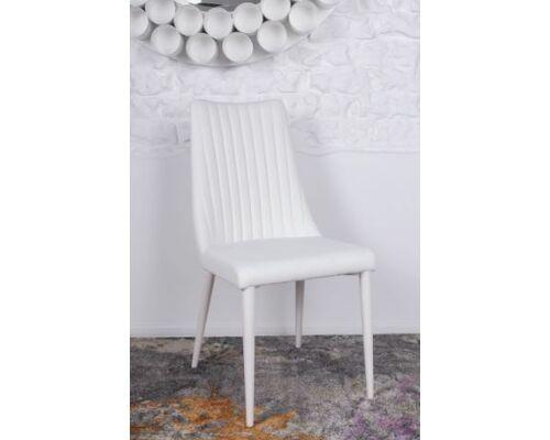 Стул HANNOVER (63*46*96.5 cm) белый - Фото №1
