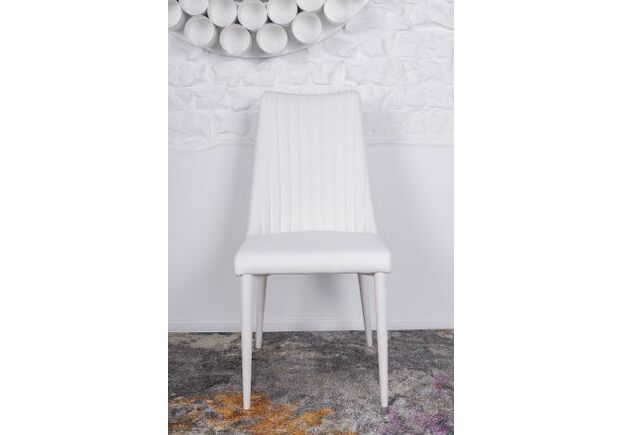 Стул HANNOVER (63*46*96.5 cm) белый - Фото №2