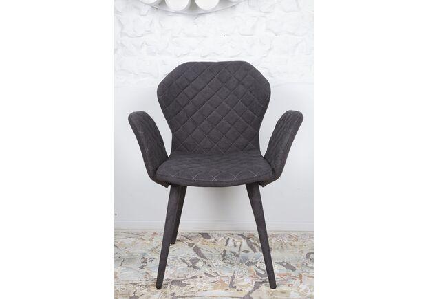 Кресло VALENCIA (60*68*88 cm - текстиль) графит - Фото №2