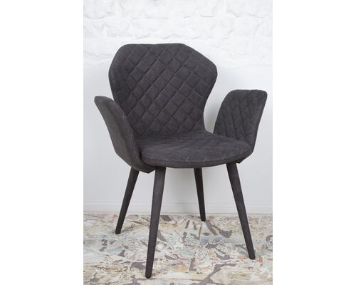 Кресло VALENCIA (60*68*88 cm - текстиль) графит - Фото №1