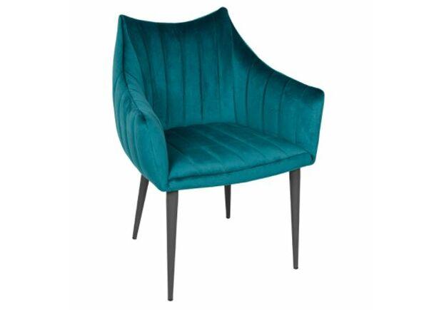 Кресло BONN (64*60*87 cm велюр) морская волна - Фото №1