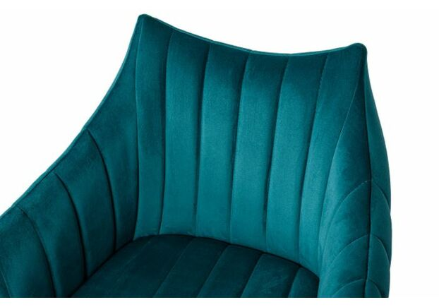 Кресло BONN (64*60*87 cm велюр) морская волна - Фото №2
