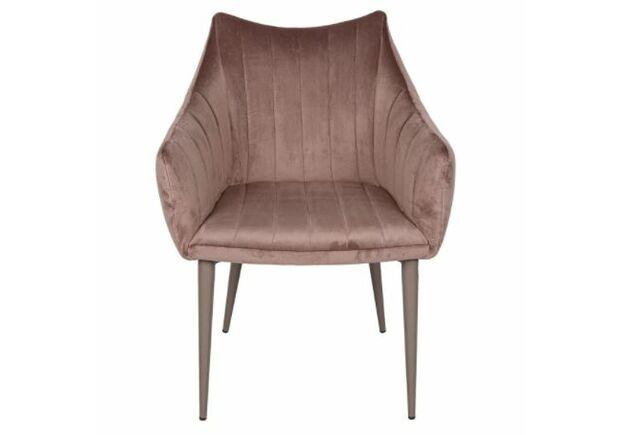 Кресло BONN (64*60*87 cm велюр) мокко - Фото №2
