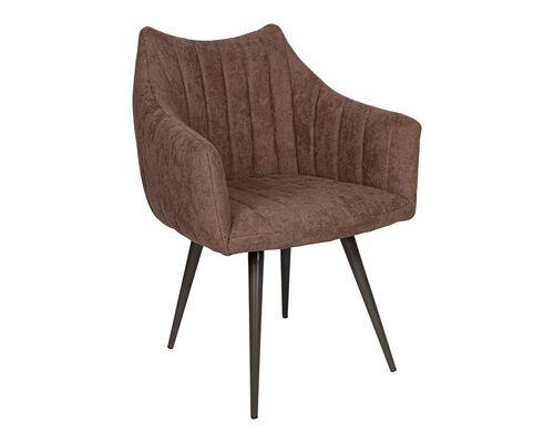 Кресло BONN (64*60*87 cm текстиль) коричневый NEW - Фото №1