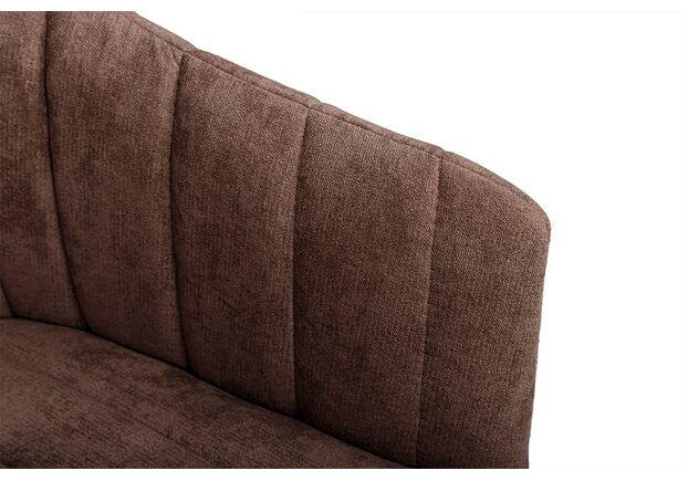 Кресло BONN (64*60*87 cm текстиль) коричневый NEW - Фото №2